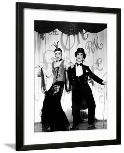 Cabaret, Liza Minnelli, Joel Grey, 1972--Framed Art Print