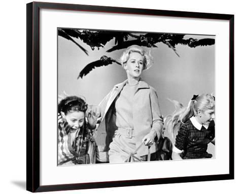 The Birds, Tippi Hedren, 1963--Framed Art Print