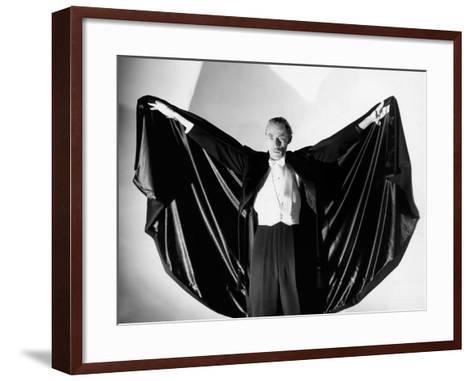 House of Dracula, John Carradine, 1945--Framed Art Print