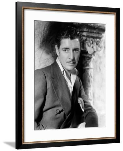 The Unholy Garden, Ronald Colman, 1931--Framed Art Print