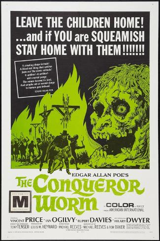 The Conqueror Worm, (aka Witchfinder General), 1968--Stretched Canvas Print