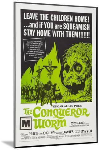 The Conqueror Worm, (aka Witchfinder General), 1968--Mounted Photo