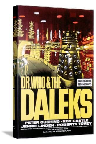 Dr. Who And the Daleks, 1965--Stretched Canvas Print