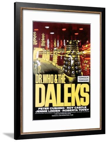 Dr. Who And the Daleks, 1965--Framed Art Print