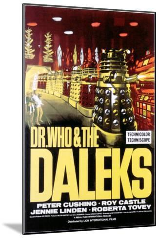 Dr. Who And the Daleks, 1965--Mounted Photo