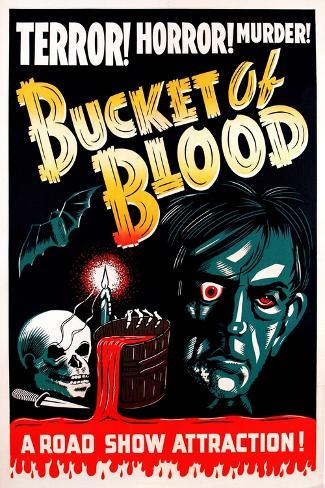 The Tell-Tale Heart, (aka Bucket of Blood), 1934--Stretched Canvas Print