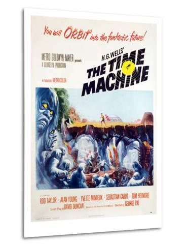 The Time Machine, 1960--Metal Print