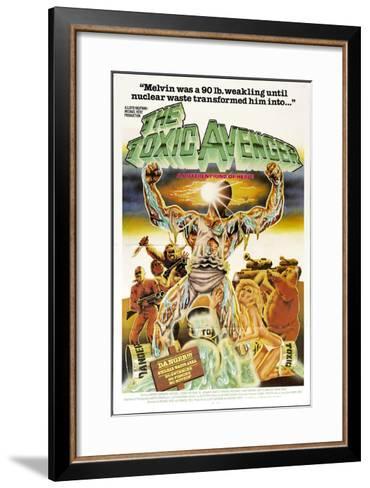 The Toxic Avenger, Mitchell Cohen, 1985--Framed Art Print
