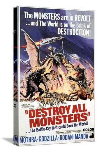 Destroy All Monsters, 1968--Stretched Canvas Print