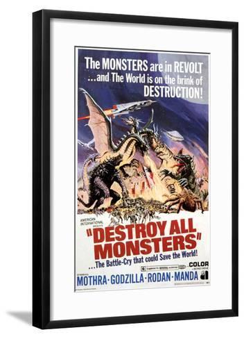 Destroy All Monsters, 1968--Framed Art Print