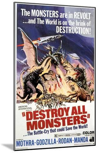 Destroy All Monsters, 1968--Mounted Photo
