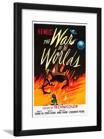 The War of the Worlds, 1953--Framed Art Print