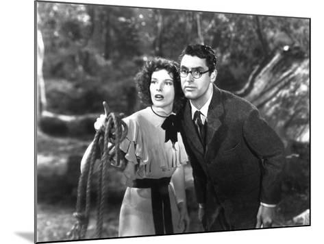 Bringing Up Baby, Katharine Hepburn, Cary Grant, 1938--Mounted Photo