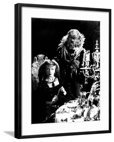 Beauty And The Beast, (aka 'Belle et la Bête, La'), Josette Day, Jean Marais, 1946--Framed Art Print