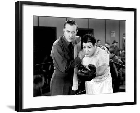 Buck Privates, Bud Abbott, Lou Costello, 1941--Framed Art Print