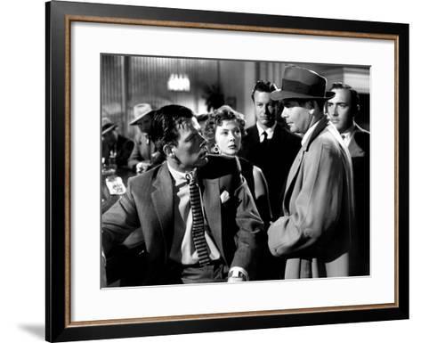 The Big Heat, Lee Marvin, Gloria Grahame, Glenn Ford, 1953--Framed Art Print