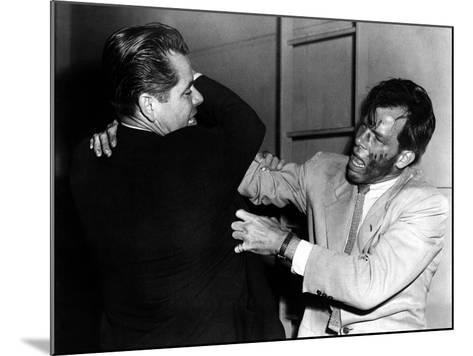 The Big Heat, Glenn Ford, Lee Marvin, 1953--Mounted Photo