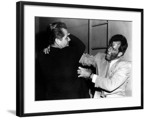 The Big Heat, Glenn Ford, Lee Marvin, 1953--Framed Art Print
