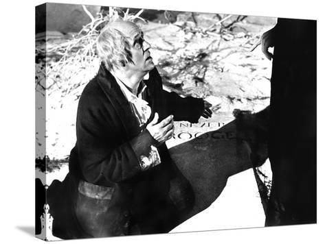 Scrooge, (aka A Christmas Carol), Alistar Sim, 1951--Stretched Canvas Print