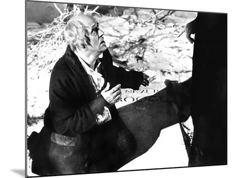 Scrooge, (aka A Christmas Carol), Alistar Sim, 1951--Mounted Photo
