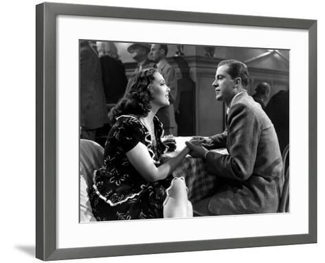 Fallen Angel, Linda Darnell, Dana Andrews, 1945--Framed Art Print