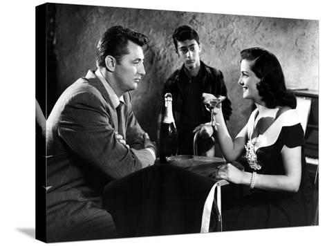 His Kind Of Woman, Robert Mitchum, Jane Russell, 1951--Stretched Canvas Print