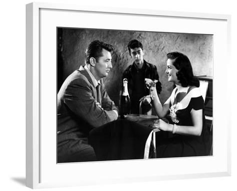 His Kind Of Woman, Robert Mitchum, Jane Russell, 1951--Framed Art Print