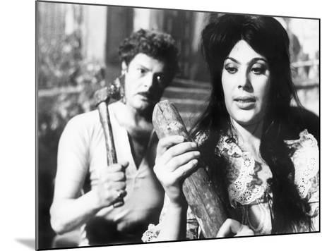 Divorce - Italian Style, Marcello Mastroianni, Daniela Rocca, 1961--Mounted Photo
