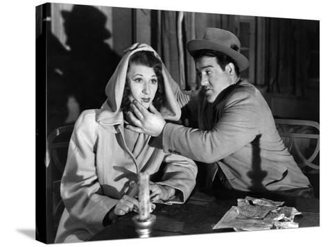 Hold That Ghost, Joan Davis, Lou Costello, 1941--Stretched Canvas Print