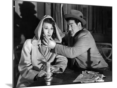 Hold That Ghost, Joan Davis, Lou Costello, 1941--Mounted Photo