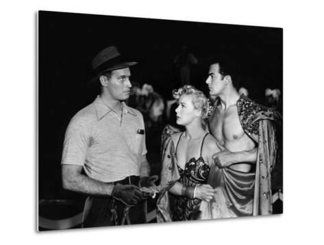 The Greatest Show On Earth, Charlton Heston, Betty Hutton, Cornel Wilde, 1952--Metal Print