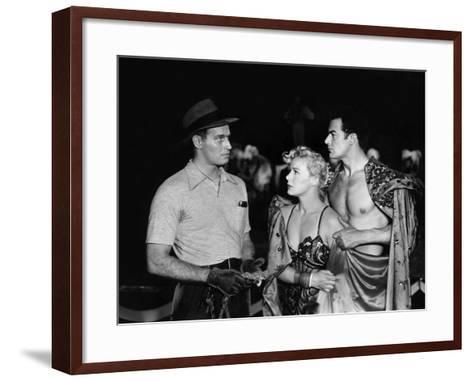 The Greatest Show On Earth, Charlton Heston, Betty Hutton, Cornel Wilde, 1952--Framed Art Print