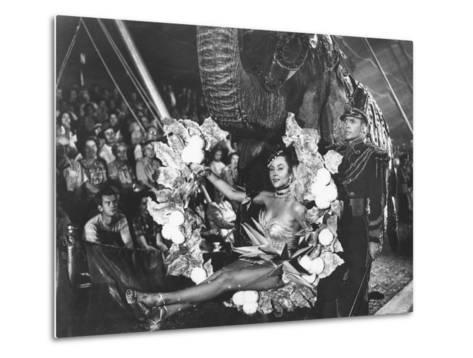 The Greatest Show On Earth, Gloria Grahame, Lyle Bettger, 1952--Metal Print