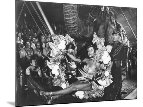 The Greatest Show On Earth, Gloria Grahame, Lyle Bettger, 1952--Mounted Photo
