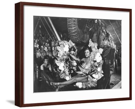 The Greatest Show On Earth, Gloria Grahame, Lyle Bettger, 1952--Framed Art Print