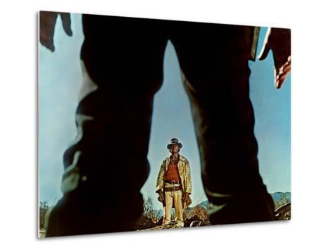 Once Upon A Time In The West, Charles Bronson, Henry Fonda, 1968--Metal Print