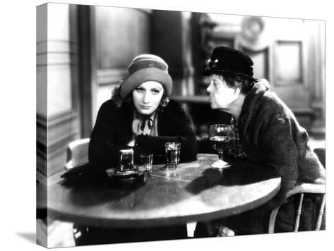Anna Christie, Greta Garbo, Marie Dressler, 1930--Stretched Canvas Print