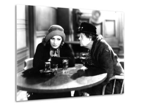 Anna Christie, Greta Garbo, Marie Dressler, 1930--Metal Print