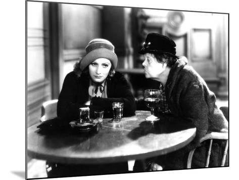 Anna Christie, Greta Garbo, Marie Dressler, 1930--Mounted Photo