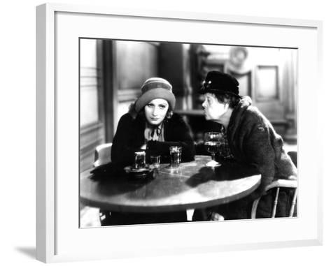 Anna Christie, Greta Garbo, Marie Dressler, 1930--Framed Art Print
