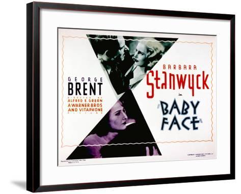 Baby Face, Douglass Dumbrille, Barbara Stanwyck, 1933--Framed Art Print