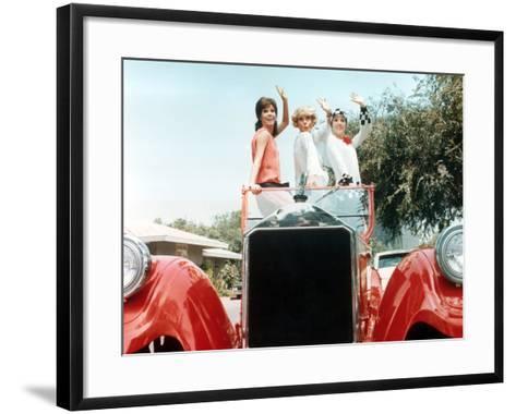 Thoroughly Modern Millie, Mary Tyler Moore, Carol Channing, Julie Andrews, 1967--Framed Art Print