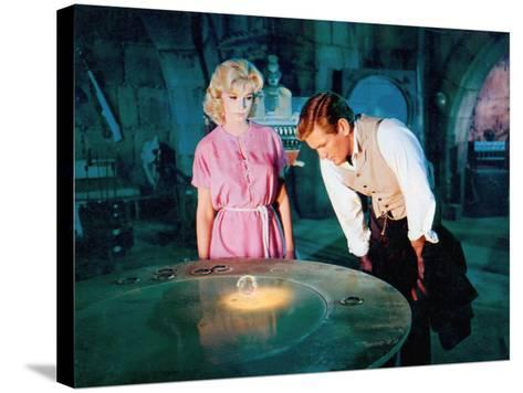 The Time Machine, Yvette Mimieux, Rod Taylor, 1960--Stretched Canvas Print