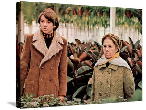 Harold And Maude, Bud Cort, Ruth Gordon, 1971--Stretched Canvas Print