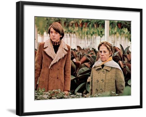 Harold And Maude, Bud Cort, Ruth Gordon, 1971--Framed Art Print