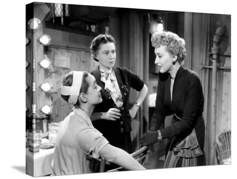 All About Eve, Bette Davis, Thelma Ritter, Celeste Holm, 1950--Stretched Canvas Print