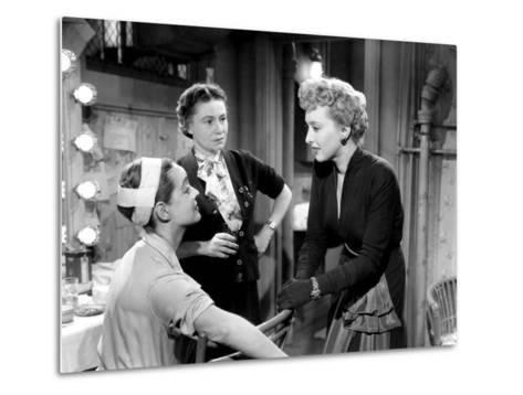 All About Eve, Bette Davis, Thelma Ritter, Celeste Holm, 1950--Metal Print