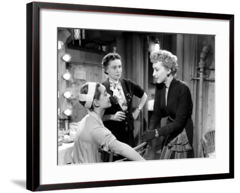 All About Eve, Bette Davis, Thelma Ritter, Celeste Holm, 1950--Framed Art Print