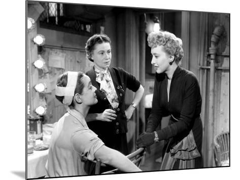 All About Eve, Bette Davis, Thelma Ritter, Celeste Holm, 1950--Mounted Photo