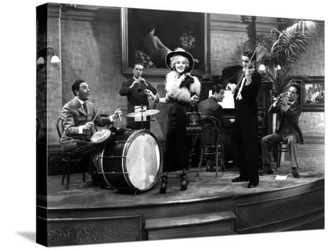 Alexander's Ragtime Band, 1938--Stretched Canvas Print
